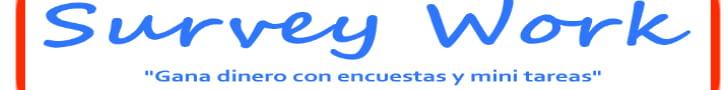 survey work banner ganar dinero